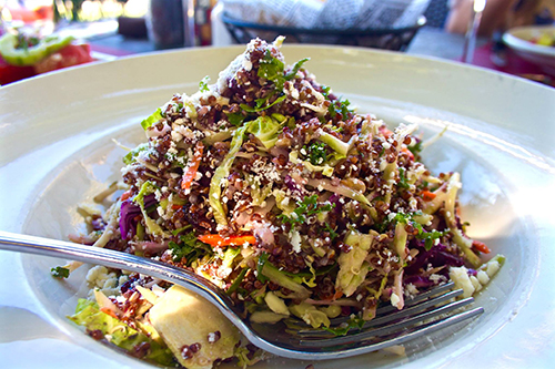 Fresh Tasty And Nutritious Salads At Salt Creek Grille Perfect For Busy Back To School Season