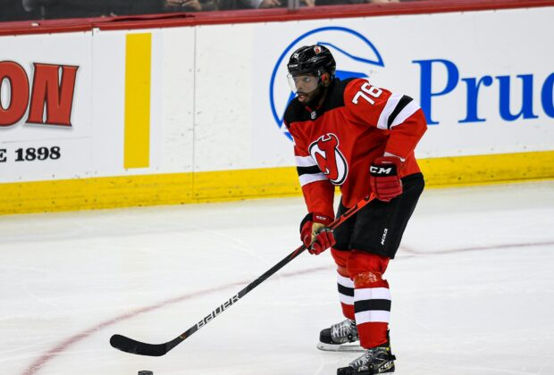 P.K. Subban, New Jersey Devils