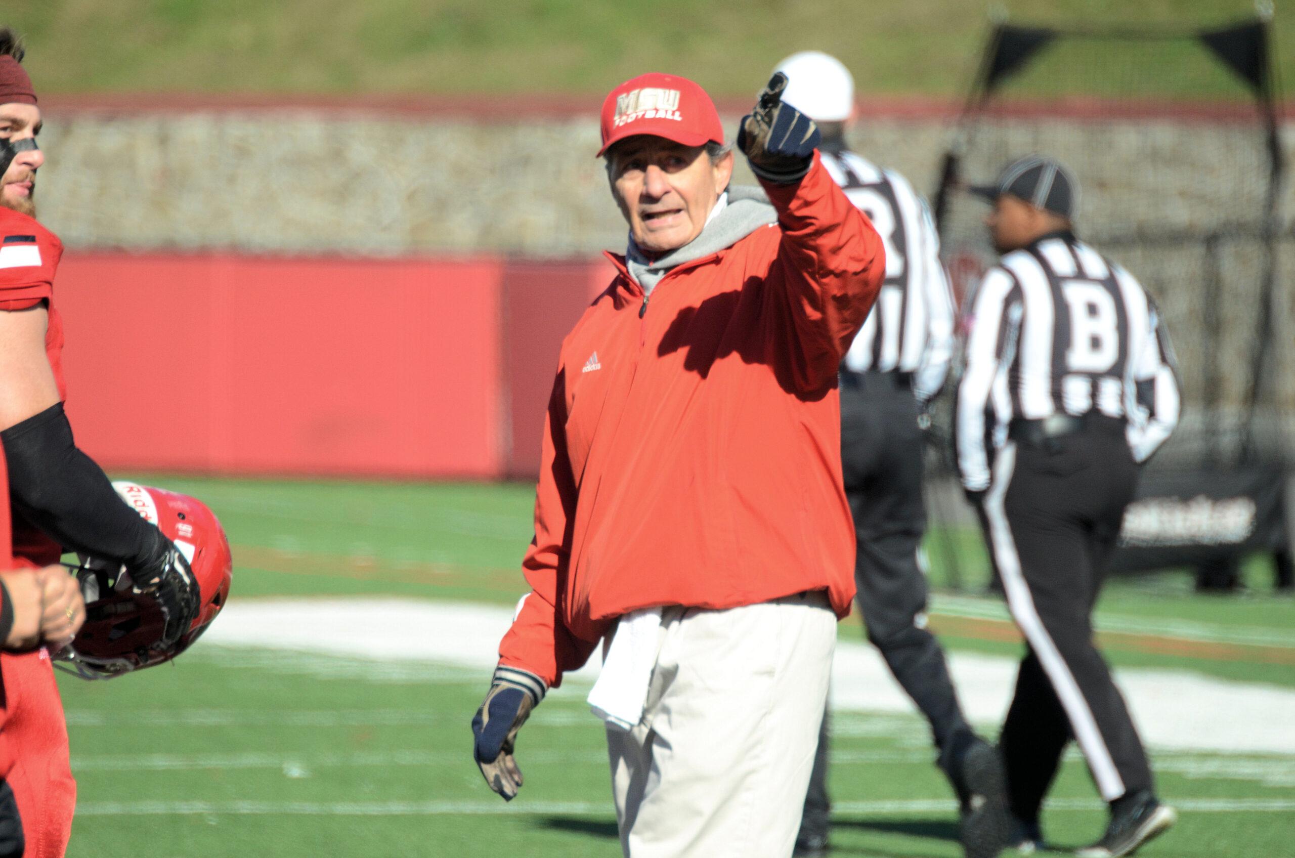 Rick Giancola, Montclair State, college football, NJAC
