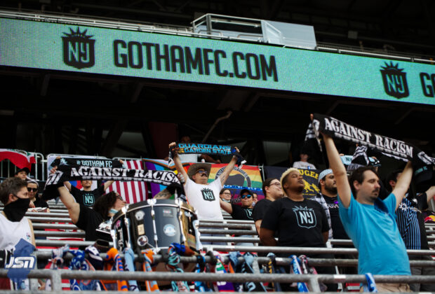 Cloud 9, NWSL, soccer, support group, fan group, Gotham FC
