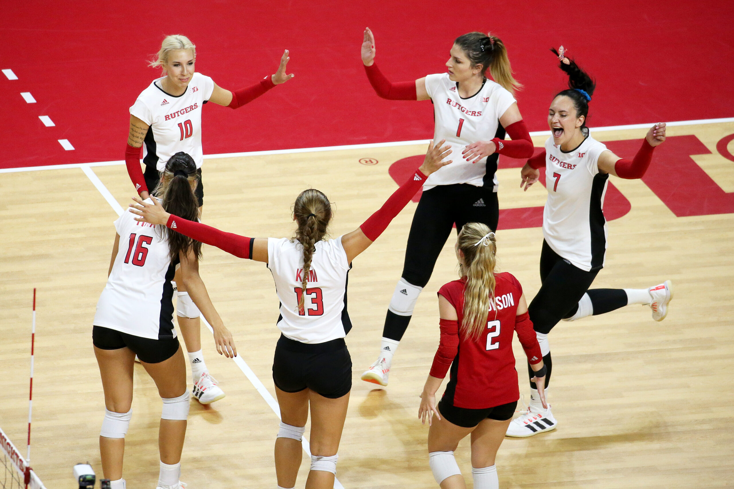 Rutgers, Rutgers Volleyball, Scarlet Knights